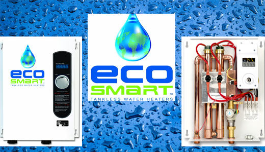 Ecosmart tankless water heaters
