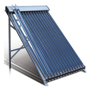 Duda Solar 30 Tube Water Heater Collector Slope Roof Frame Evacuated Vacuum Tubes SRCC Certified Hot