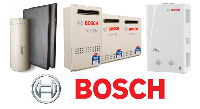 Some of Bosch water heater models
