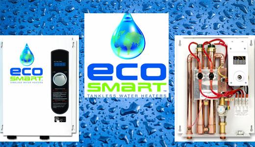 Ecosmart tankless water heaters