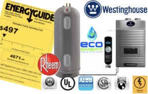 Energy Factor Energy Guide Water Heaters