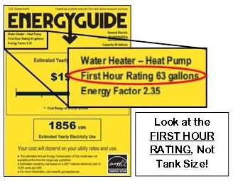 First Hour Rating Water Heater