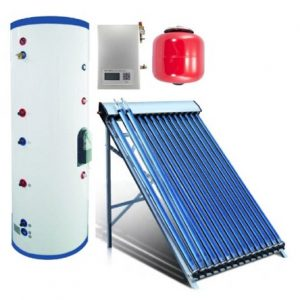 Duda Solar 600 Liter Water Heater Active Split System Dual Coil Tank Evacuated Vacuum Tubes Hot SRCC Certified